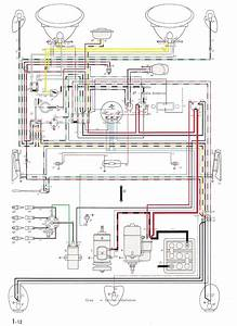 Color Wiring Diagram 11x17 For 1966 Volkswagen Beetle Bug Site Ekhaa Org Sa