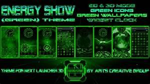 """Arts Creative Group: NEXT LAUNCHER 3D THEME: """"ENERGY SHOW ..."""