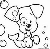 Bubble Guppies Coloring Puppy Pages Printable sketch template