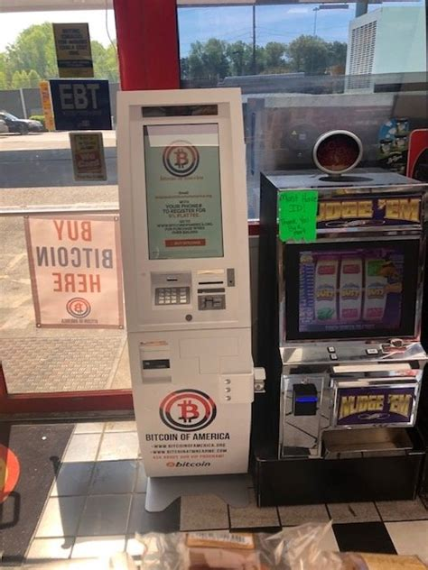 Bitcoin is a new form of virtual currency that's safeguarded. Bitcoin ATM in Charlotte - Shell Gas Station