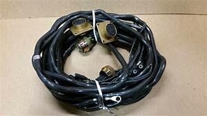 Military 5 Ton Wrecker Wiring Harness Branched Lds465