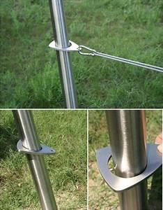 Voile D Ombrage Australienne : mat inox voile d ombrage toile terrasse sur mesure lbzh ~ Melissatoandfro.com Idées de Décoration