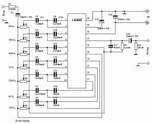 Audio Schematics  Graphic Equalizer Based La3607