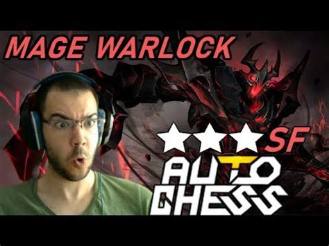 mage warlock is so dota auto chess gameplay 120 shadow fiend youtube