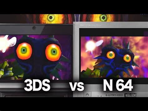 Legend of Zelda Majora's Mask N64 vs 3DS