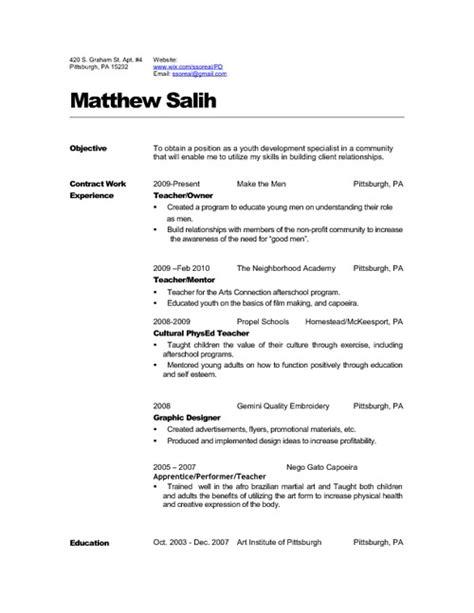 resume career objectives for teachers resume 2010 pdfsr