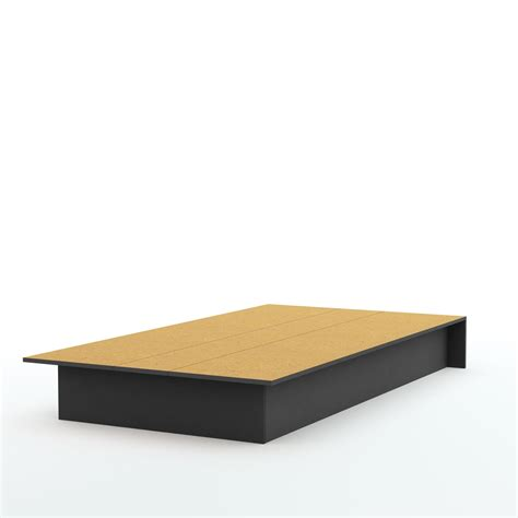 """South Shore Libra Twin Platform Bed (39"""") By Oj Commerce"""