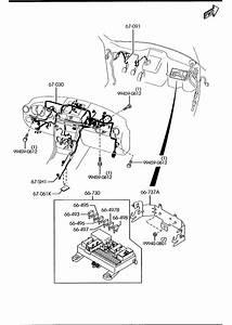 2008 Mazda 3 Dashboard Wiring Harnesses  4