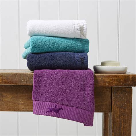 Buy Ascot Navy Luxe Rider Towel Amara