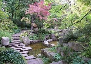 Kleine Gartenteiche Gestalten : japanischen garten alnelgen sunken garden gartengestaltung wassergarten mit gartenteich ~ Frokenaadalensverden.com Haus und Dekorationen