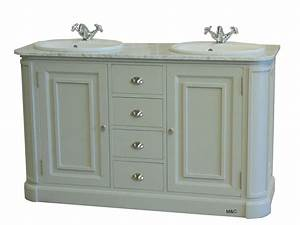 Meuble Bois Salle De Bain : meuble salle de bain ancien en bois ~ Dailycaller-alerts.com Idées de Décoration