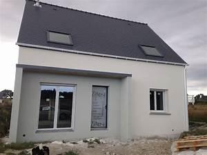 probleme enduit sur notre maison en construction With maison crepis blanc et gris