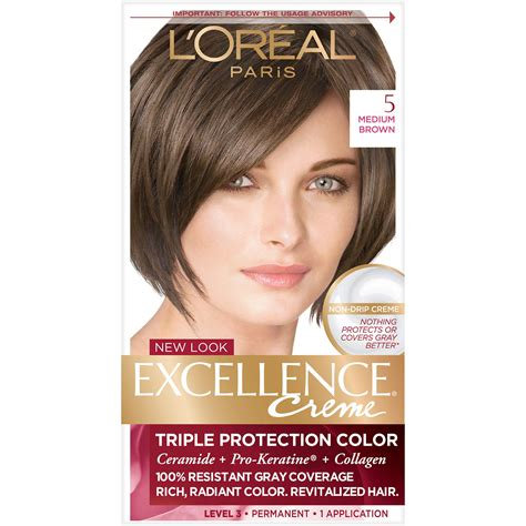 amazoncom loreal excellence creme light brown