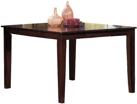 espresso counter height table winston espresso winston counter height dining table p810