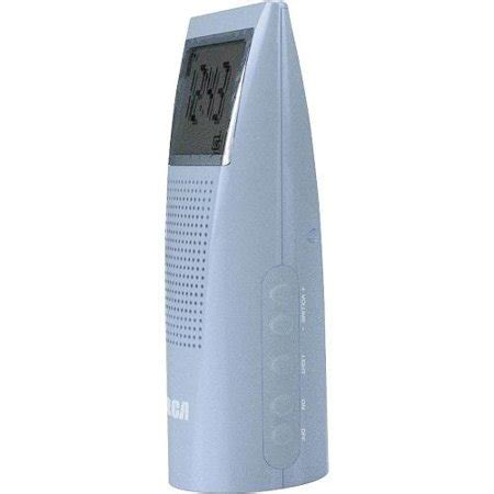 Rca Bathroom Clock Radio Blue by Rca Bathroom Clock Radio Blue Walmart