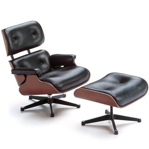 Vitra Lounge Chair Replica by Vitra Lounge Chair And Ottoman Miniature