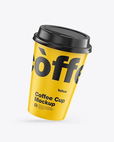 More than 100 categories, over 5000 mockups. Matte Coffee Cup Mockup | Exclusive Mockups