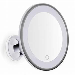 Miroir Avec Lumière Pour Maquillage : achat bornku miroir grossissant lumineux x7 led b60 miroir ~ Zukunftsfamilie.com Idées de Décoration