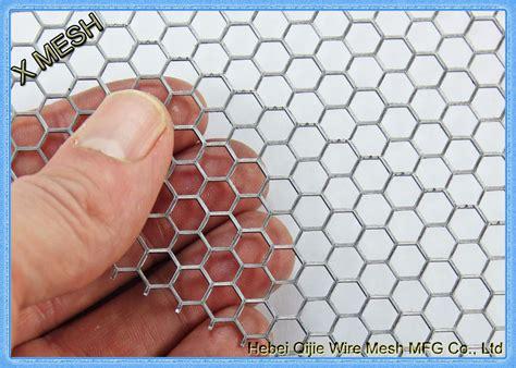 hexagon perforated metal mesh lightweight aluminum