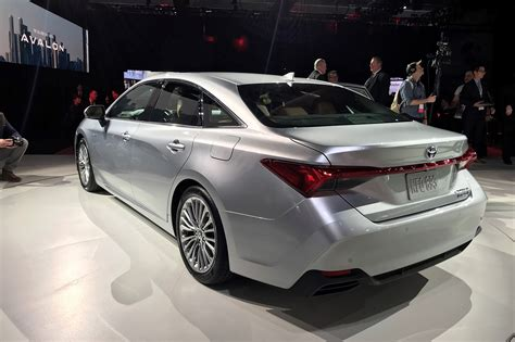 Toyota Avalon (2019) New Saloon Breezes Into Detroit