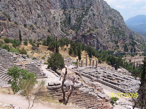 Foto Santuario di Delfi-Grecia - Viaggi, vacanze e turismo ...