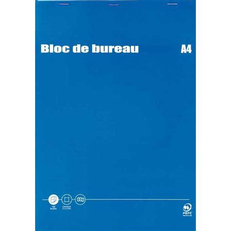 bloc note de bureau bloc de bureau 100 feuilles a4 60g 5x5 budget vente de bloc de bureau 56 224 70g la centrale