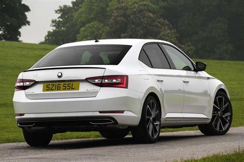 Skoda Superb SportLine Launched in Britain in Sedan and ...