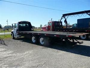 White Diesel Flatbed Heavy Duty Tow Trucks 30t With Manual