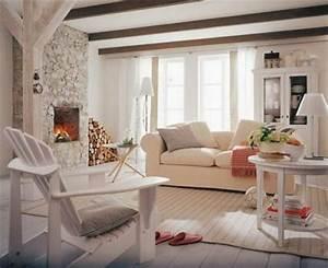 Sofa Amerikanischer Stil : decoraci n de living estilo r stico ~ Markanthonyermac.com Haus und Dekorationen