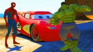 Cars Youtube Français : hulk spiderman et flash mcqueen de disney cars 2 hulk dessin anim en francais youtube ~ Medecine-chirurgie-esthetiques.com Avis de Voitures