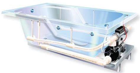 watertech whirlpool bathtub features options