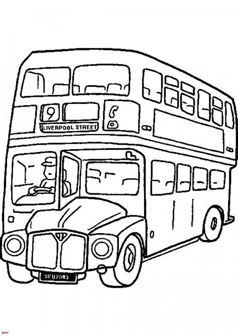 coloriage bus anglais kbachacom kbachacom