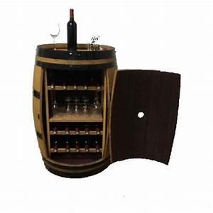 Mini Cave à Vin : cave vin barrique meuble range bouteille ~ Preciouscoupons.com Idées de Décoration