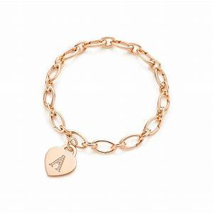 tiffany co alphabet heart tag letter from tiffany co With gold letter bracelet