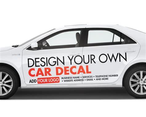 Custom Car Sticker  Vinyl Lettering  Custom Personalised