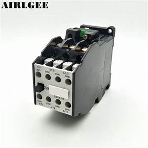 Cjx1 22 3tb43  3 Phase 3 Pole 2nc 2no 22a Ac Contactor 24