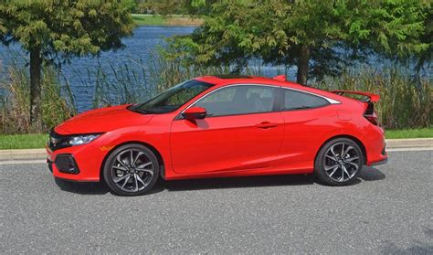 2017 Honda Civic Si Price by 2017 Honda Civic Si Coupe Review Test Drive