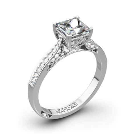 tacori 2638 prp dantela crescent motif pave for princess diamond engagement ring 2618