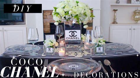 diy coco chanel party decorations coco chanel party