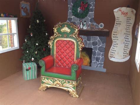 santa claus throne chair rentals austin san antonio texas