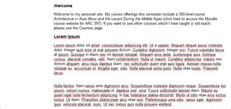 paragraph  text formatting chass  nc state