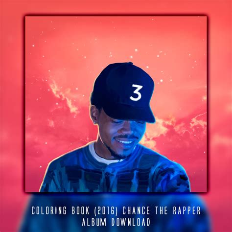 coloring book chance  rapper