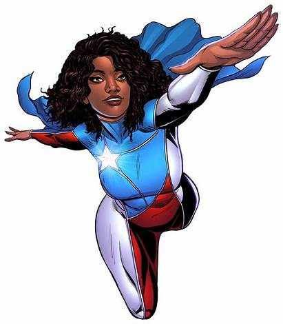 Superhero Miranda Edgardo Rodriguez Clipart Puerto Comic