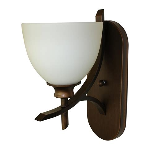 bronze and wall sconces cambridge 1 light rubbed bronze wall sconce wl89 1orb