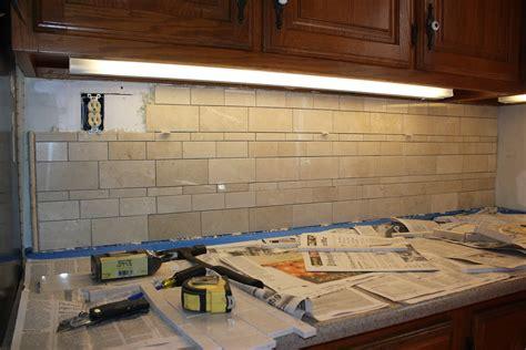 Install Tile Backsplash : Installing A Kitchen Tile Backsplash