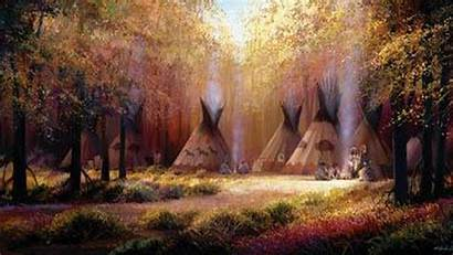 Native American Indian Wallpapers Backgrounds Camp Desktop