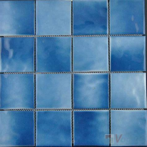 3x3 blue ceramic tile 48x48mm 2x2 inch antique ceramic mosaic tiles vc at95