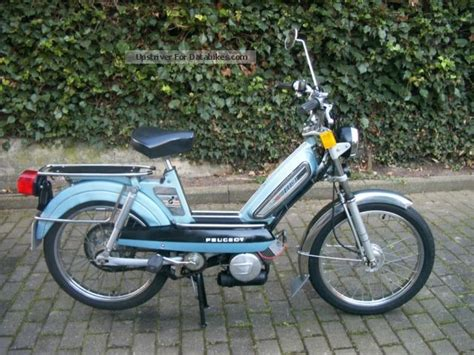 Peugeot 103 Moped by 1980 Peugeot 103 Lvs U2 Moped