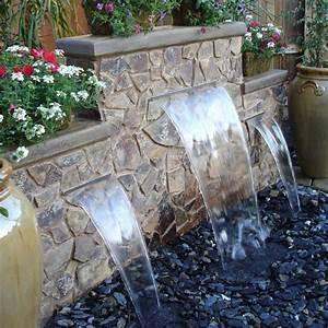 25 best ideas about backyard waterfalls on pinterest for Backyard water features for small yards