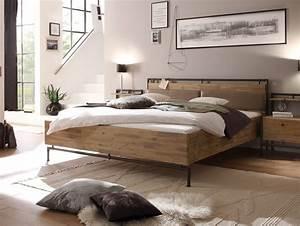 Massivholz Betten 180x200 : terry doppelbett 180x200 cm akazie geb rstet ~ Markanthonyermac.com Haus und Dekorationen